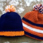 Pattern: fan-tastic ski hat