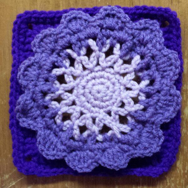 Pattern: 6″ Crochet Square
