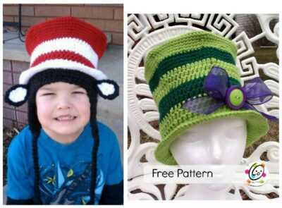 top hat free crochet pattern