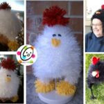 Pattern: Chicken and Rooster Hats
