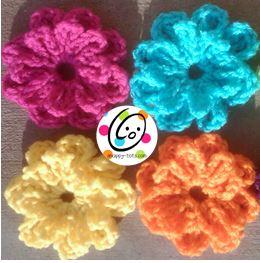 Pattern: Button on Flower