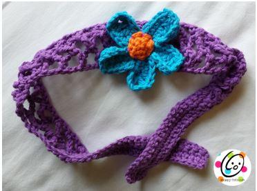 Pattern: Garden Flowers Headband