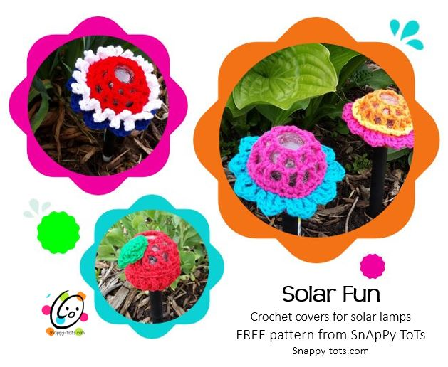 Freebie: Solar Fun Flowers
