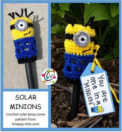 Pattern: You Are One in a Minion Solar Lamp Cover