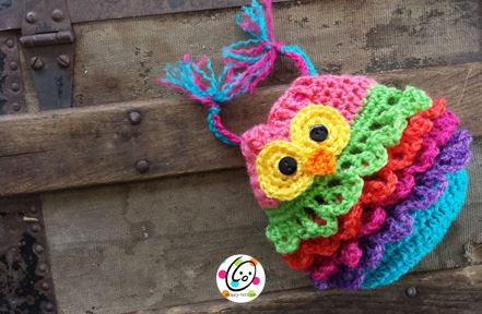 Free Pattern Bonbon Owl Bag