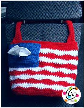 Freebie: American Car Tote Bag