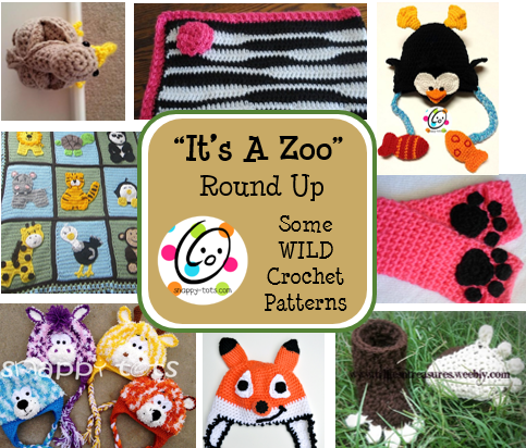 Free Crochet Patterns For Zoo Animals : Its a Zoo Round Up ~ SnApPy ToTs