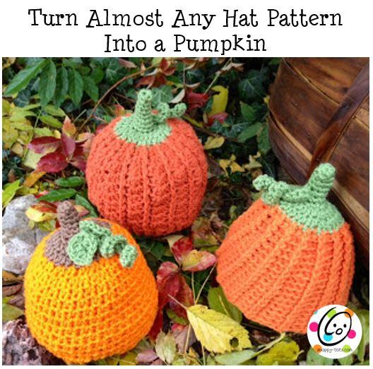 DIY: Pumpkin Time Beanies
