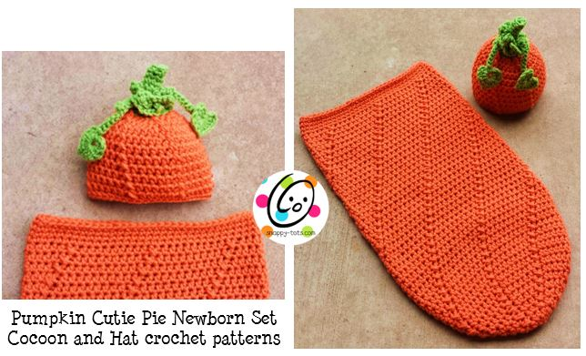 Freebie: Newborn Baby Pumpkin Set
