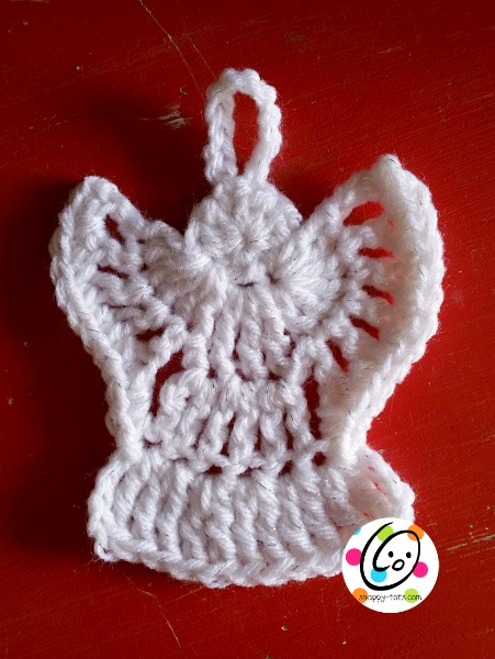 Easy Free Crochet Angel Pattern : Cal 2014: Day 15 - angels ~ SnApPy ToTs