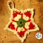 Free star ornament crochet pattern.