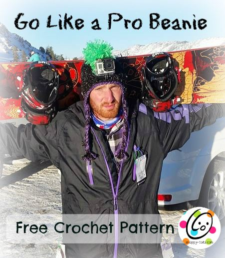 Freebie: Go Like a Pro Beanie | Snappy Tots