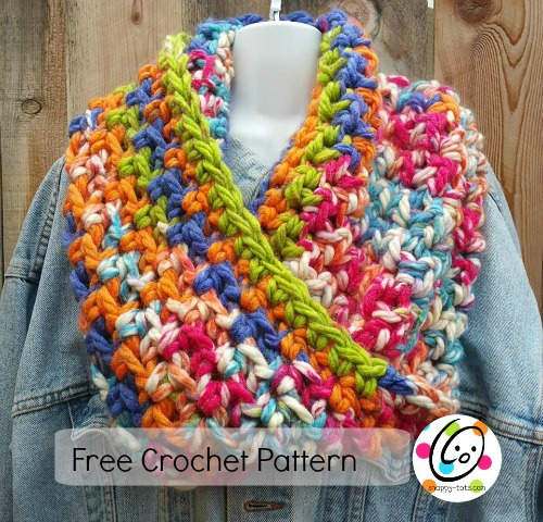 Free Crochet Patterns With Q Hook : Pattern: The Any Infinity Scarf and Cowl ~ SnApPy ToTs