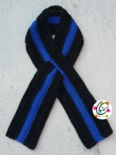 Thin Blue Line Scarf
