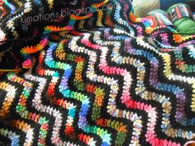 Freebie: Stained Glass Afghan
