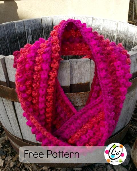 Free Pattern Jellybean Infinity Scarf Snappy Tots