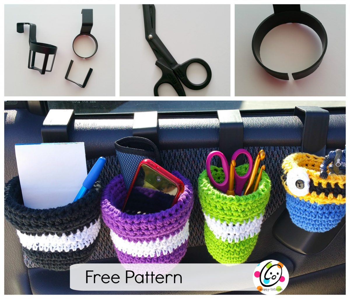 Freebie: Auto Caddy Crochet Pattern