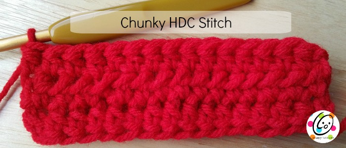 How To: Chunky HDC Stitch