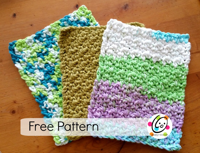 Pattern: Nubby Dishcloth