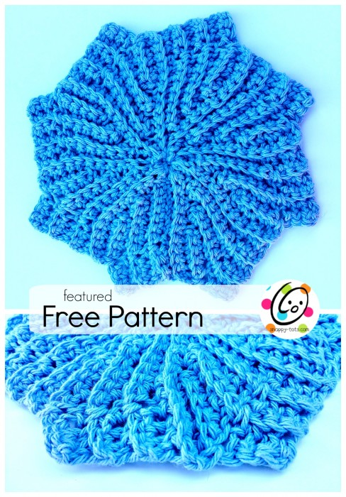 Featured Free Pattern: Glamour Washcloth ~ Snappy Tots
