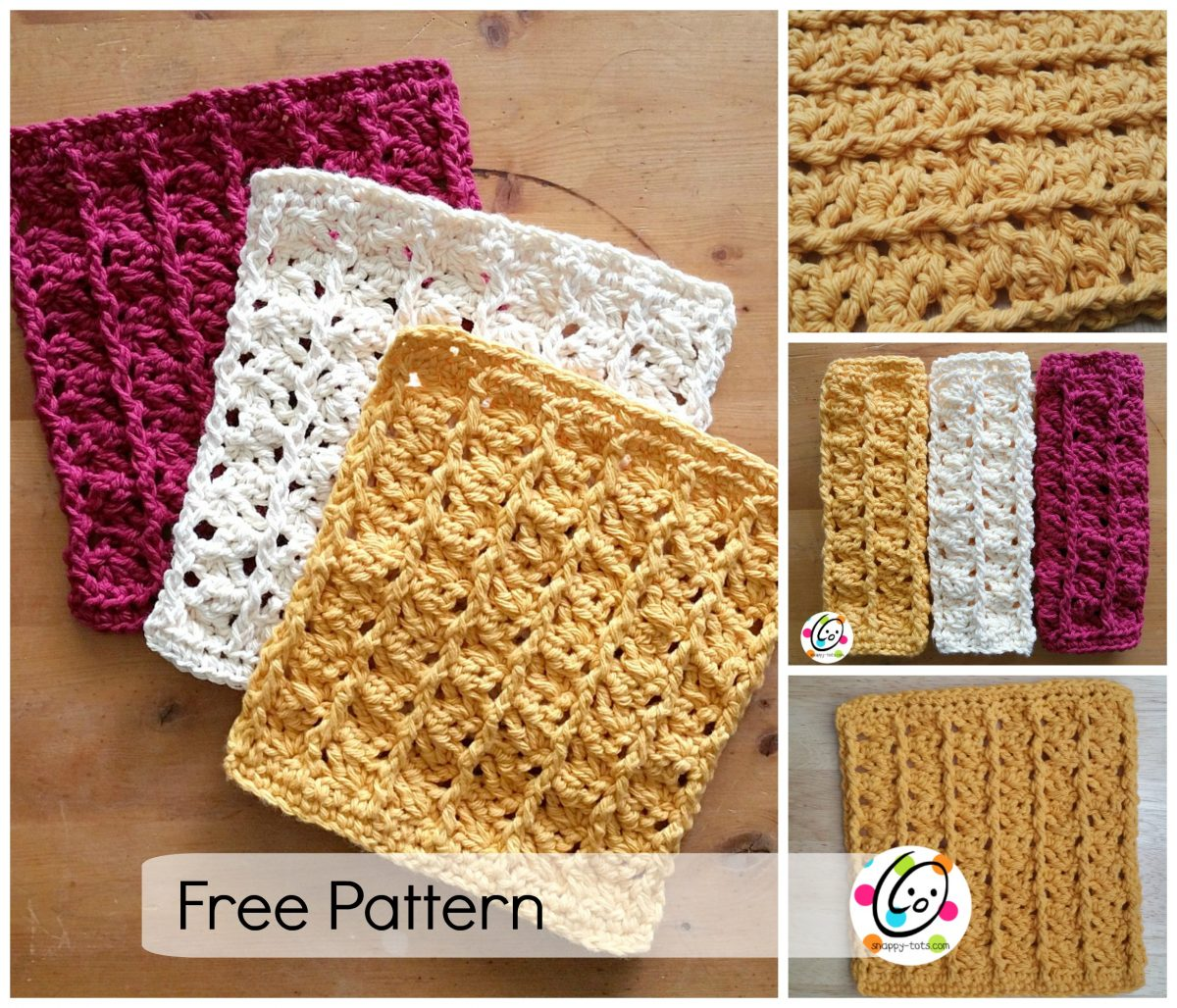 Pattern: Scrubbing Dishcloth