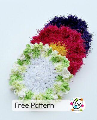 flower dots free pattern