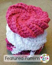 Crochet Patterns Only Spiral Scrubbie : Spiral Scrubbie by Judith Prindle