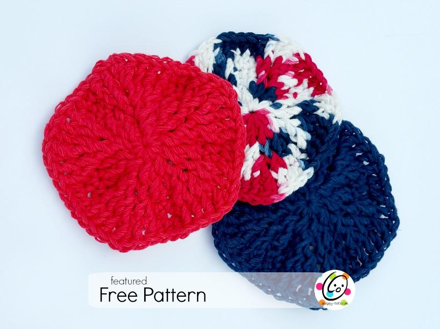 Free crochet scrubbie pattern