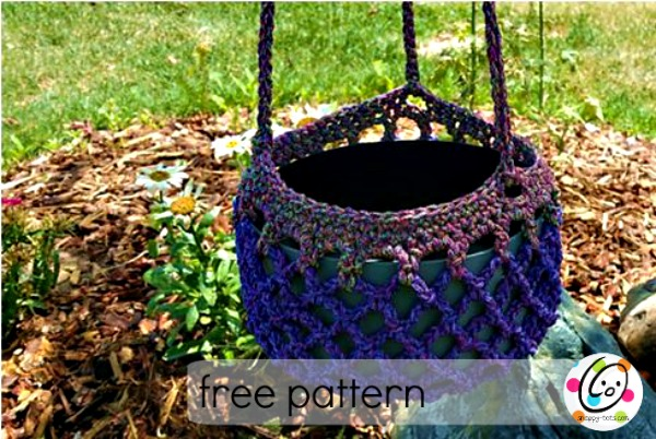 Free Pattern: Plant Holder ~ Snappy Tots