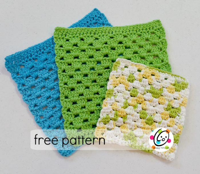 Pattern: Granny Dish Cloth