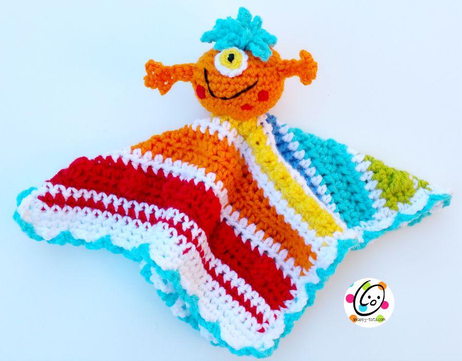 Crochet Little Lovey Pattern Snappy Tots