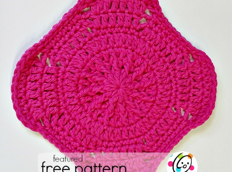 Freebie: Shape Shifting Dishcloth