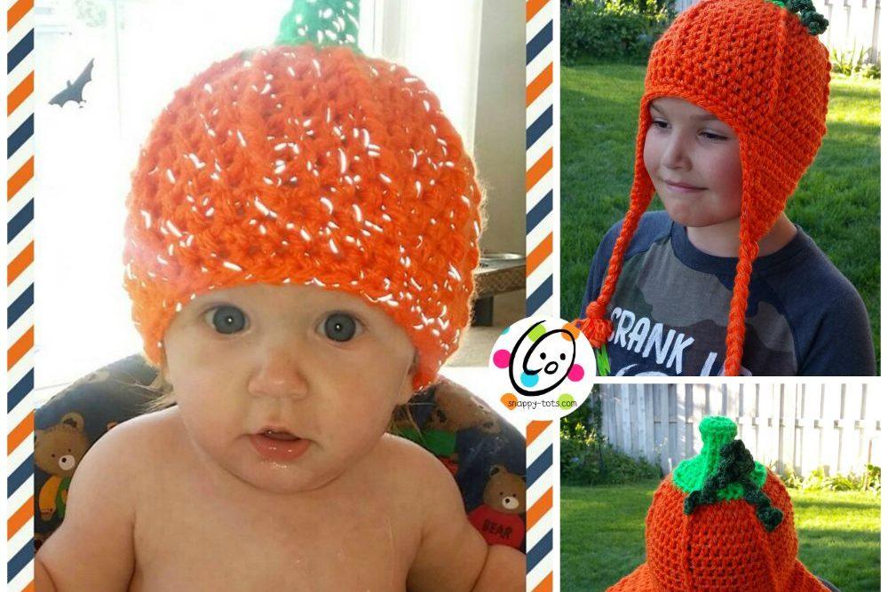Freebie: Flashy Pumpkin Beanie