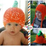 Freebie: Flashy Pumpkin Beanie