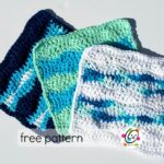Freebie: Surf Wash Cloth