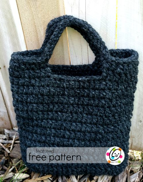 Featured Free Pattern Amazing Big And Sturdy Tote