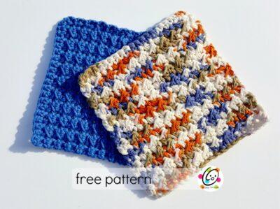 little toughies - free crochet cloth pattern