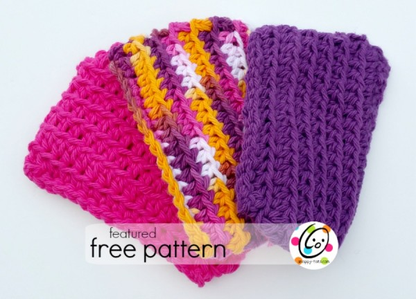 Freebie: Crochet Dish Sponge