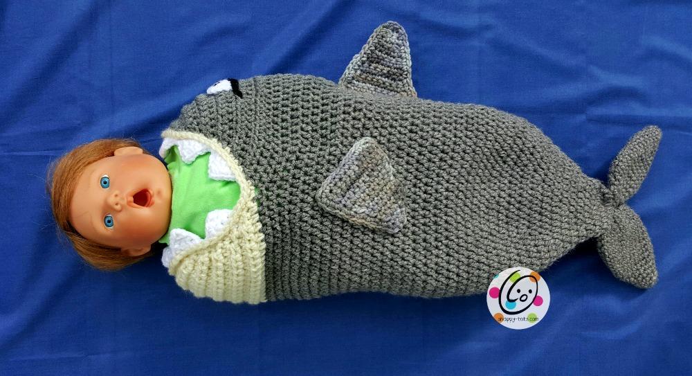 f6ee348fa8c Crochet  Baby Shark Pattern ~ Snappy Tots