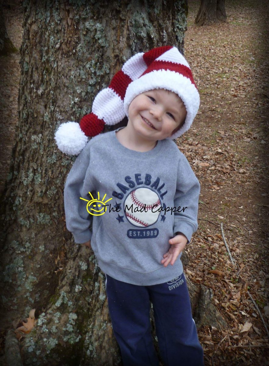 Freebie: Whimsical Santa Hat