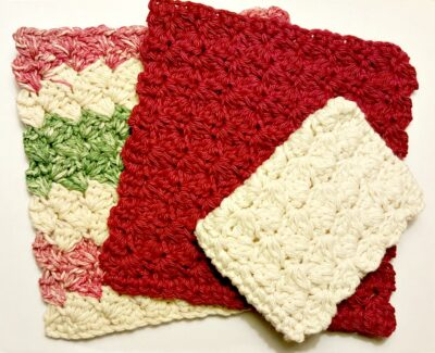 Click photo for scrubber pattern.