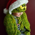 hooded holiday scarf