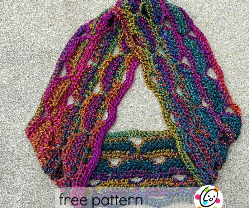 Freebie: Unique scarf gets a makeover
