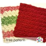Freebie: Scalloped Wash Cloth