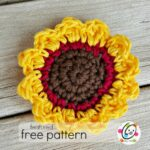 Freebie: Sunflower Tawashi
