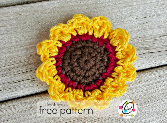 Freebie: Sunflower Tawashi