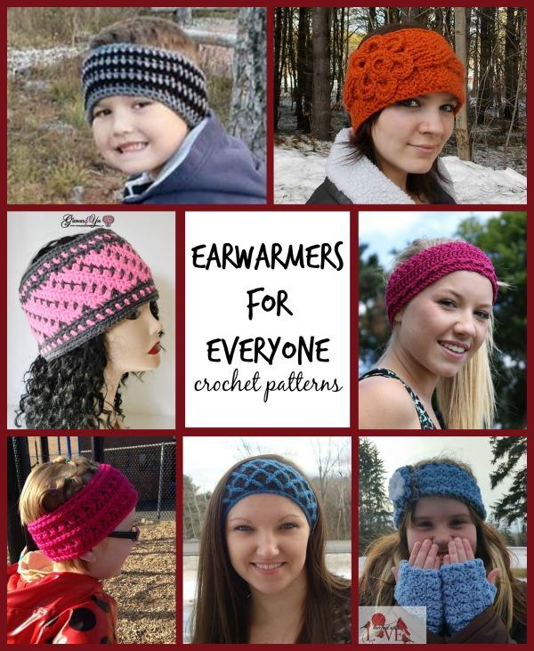 earwarmer crochet patterns