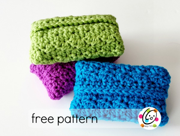 Free Pattern Tissue Cover Snappy Tots