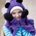 Crochet: Hooded Bear Scarf