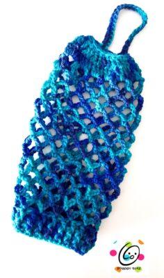 crochet pattern ~ bag keeper